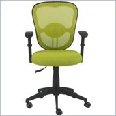 Eurostyle Quincy Office Chair in Lime Green/Black