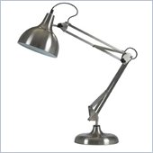 Eurostyle Lalla Lamp in Brushed Steel