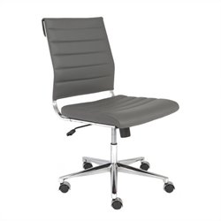 Eurostyle Axel Low Back Office Chair in Gray