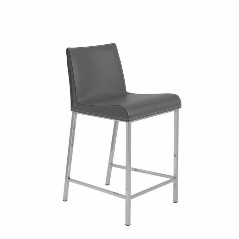 24 Counter Stool In Gray