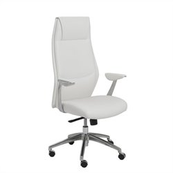 Eurostyle Crosby High Back Office Chair in White