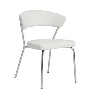 Eurostyle Draco  Dining Chair in White