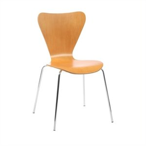 Eurostyle Tessa Stacking Side Dining Stacking Chair