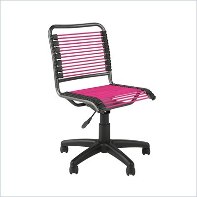 Eurostyle Beetle Low Back Pink/Graphite Black Office Chair