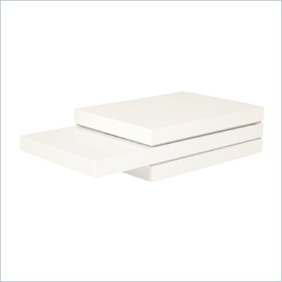 Eurostyle Carter Coffee Table in White Lacquer