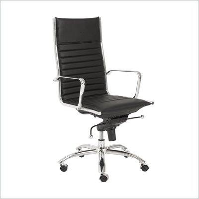 Eurostyle Dirk High Back Office Chair in Black