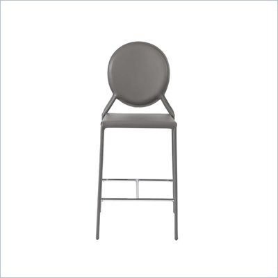 Eurostyle Isabella-C Counter Chair in Gray