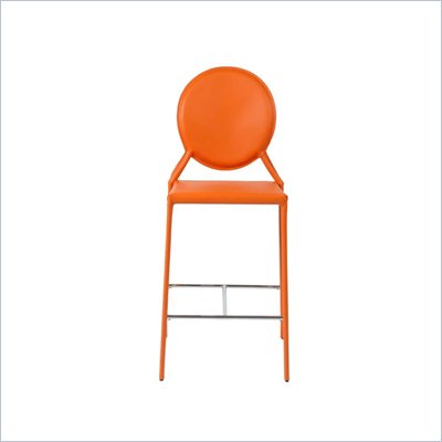Eurostyle Isabella-C Counter Chair in Orange