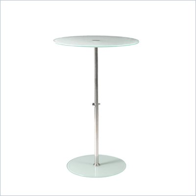 Eurostyle Raina Bistro Table in Frosted