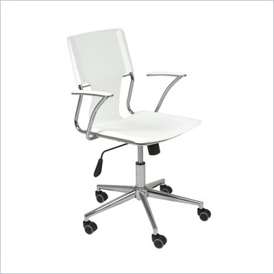 Eurostyle Tobago Office Chair in White
