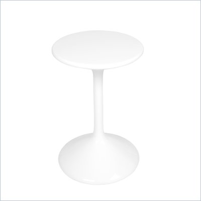 Eurostyle Trish Side Table in White