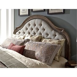 Pulaski Aurora California King Upholstered Panel Headboard