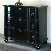 Pulaski 3 Drawer Accent Chest in Sable Finish