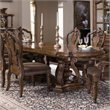 ADD TO YOUR SET: Pulaski San Mateo Double Pedestal Formal Dining Table in Brown Finish