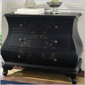 Pulaski Accents 3 Drawer Accent Chest in Center Stage Black Finish