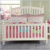 Pulaski Build-A-Bear Pawsitively Yours Kids Slat Bed in Vanilla Finish