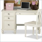 Pulaski Build-A-Bear Pawsitively Yours Kids Student Computer Desk in Vanilla