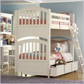Pulaski Build-A-Bear Pawsitively Yours Kids Bunk Bed in Vanilla Finish