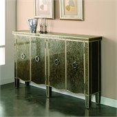 Pulaski Tiara Silver Modern Console Table