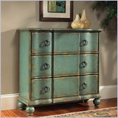 Pulaski Accents Hall Chest in Weathered Blue finish