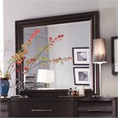 Pulaski Tangerine 330 Mirror in Sable Finish