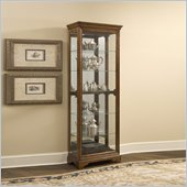 Pulaski Curio Cabinet in Meadow Oak