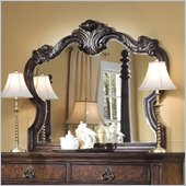 Pulaski Wellington Manor Mirror in Cherry