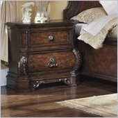 Pulaski Wellington Manor 2 Drawer Nightstand in Cherry