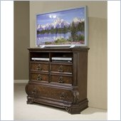 Pulaski Wellington Manor 5 Drawer Media Chest in Cherry