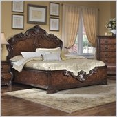 Pulaski Wellington Manor Panel Bed in Cherry