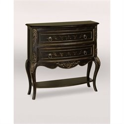 Pulaski Accents Pulaski Accents Hall Accent Chest in Versailles Black Finish