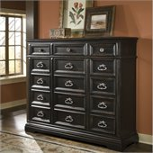 Pulaski Brookfield Gentleman's Chest in Ebony Finish