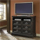 Pulaski Brookfield Media Chest in Ebony Finish