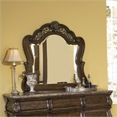 Pulaski Birkhaven Mirror in Mocha Finish