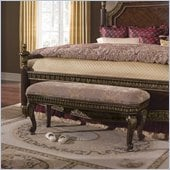 Pulaski Del Corto Uphoilstered Bed Bench