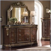 Pulaski Del Corto Dresser and Mirror Set