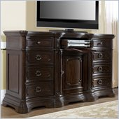 Pulaski Cassara Dresser in Cordovan Finish
