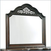 Pulaski Cassara Mirror in Cordovan Finish
