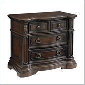 Pulaski Cassara Bed Chest in Cordovan Finish
