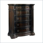 Pulaski Cassara Drawer Chest in Cordovan Finish