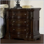 Pulaski Cassara Nightstand in Cordovan Finish