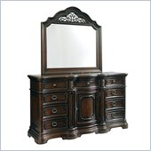 Pulaski Cassara Dresser and Mirror Set