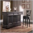 ADD TO YOUR SET: Pulaski Brookfield Accent Bar in Ebony Finish