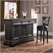 Pulaski Brookfield Accent Bar in Ebony Finish