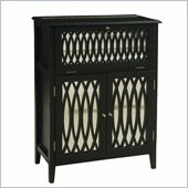 Pulaski Accents Modern Mojo Wine Chest in Bardot