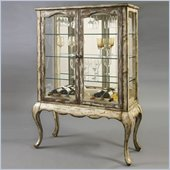 Pulaski Accents Rustic Chic Wine Cabinet in Geraldine