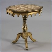 Pulaski Accents Rustic Chic Accent Table in Hannah