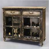 Pulaski Accents Rustic Chic Accent Cabinet in Gaston