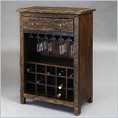 Pulaski Accents Rustic Chic Wine Cabinet in Sirsa