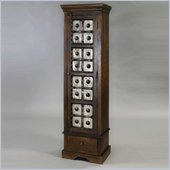Pulaski Accents Rustic Chic Accent Cabinet in Sikar